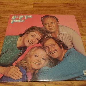 All In The Family - 1971 Vinyl LP